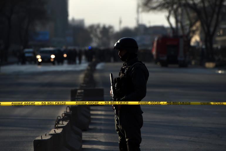 Un policier à Kaboul (illustration)