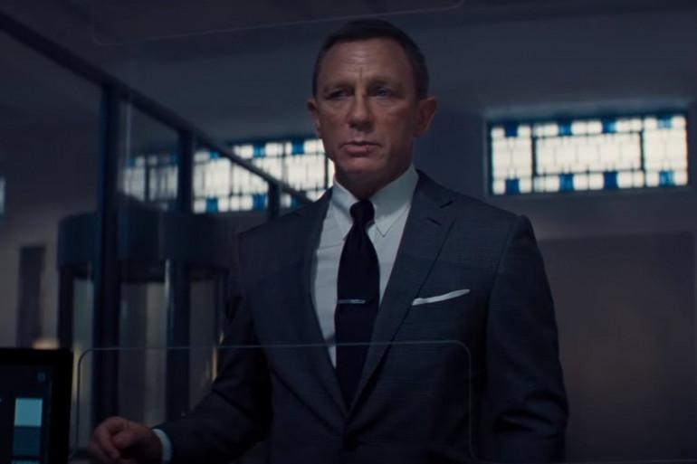 """Daniel Craig dans """"James Bond : Mourir peut attendre"""""""