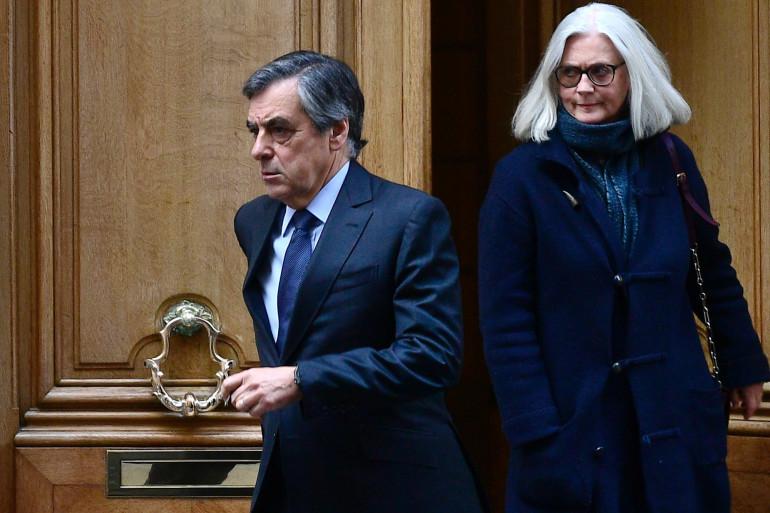 François et Penelope Fillon, le 24 février 2020