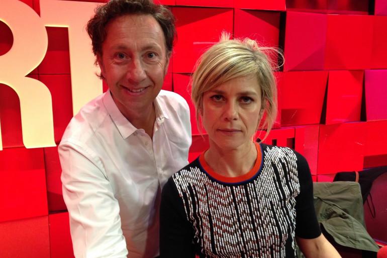 Stéphane Bern et Marina Foïs