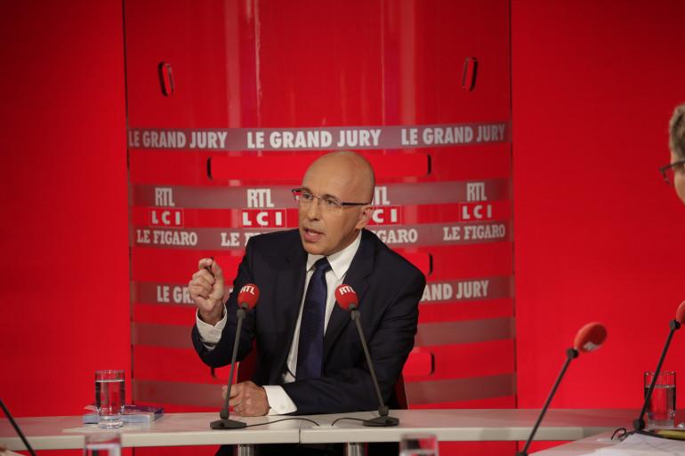 Éric Ciotti, invité du Grand Jury sur RTL le 3 juillet 2016