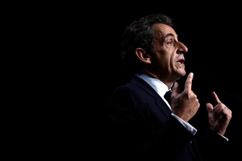 Nicolas Sarkozy à Saint-Étienne