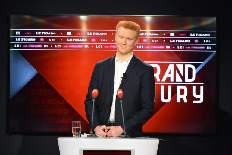 """Adrien Quatennens invité dans """"Le Grand Jury"""" le 8 mars 2020"""