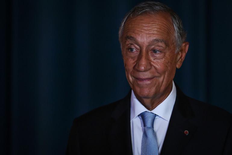 Le président portugais Marcelo Rebelo de Sousa