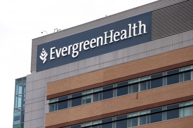 Le centre médical EvergreenHealth, le 8 mars 2020 à Washington