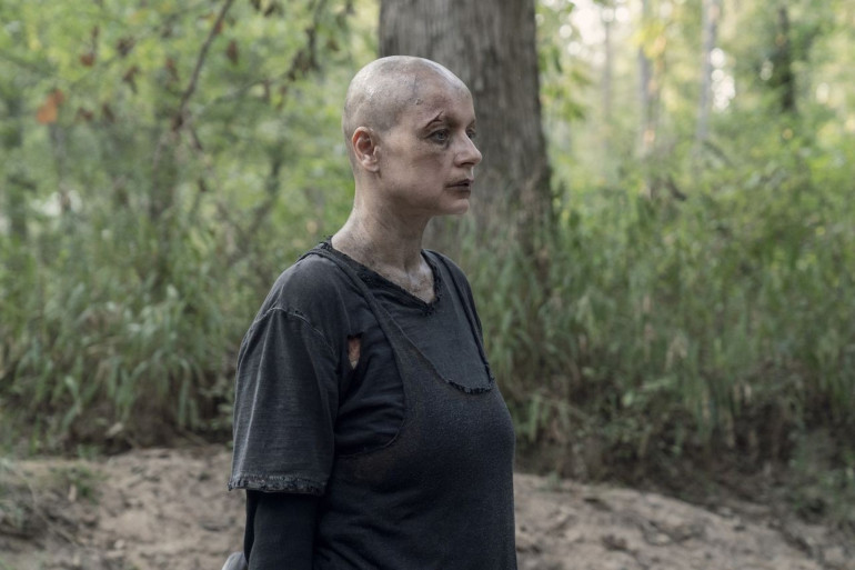 """Alpha dans la saison 10 de """"The Walking Dead"""""""