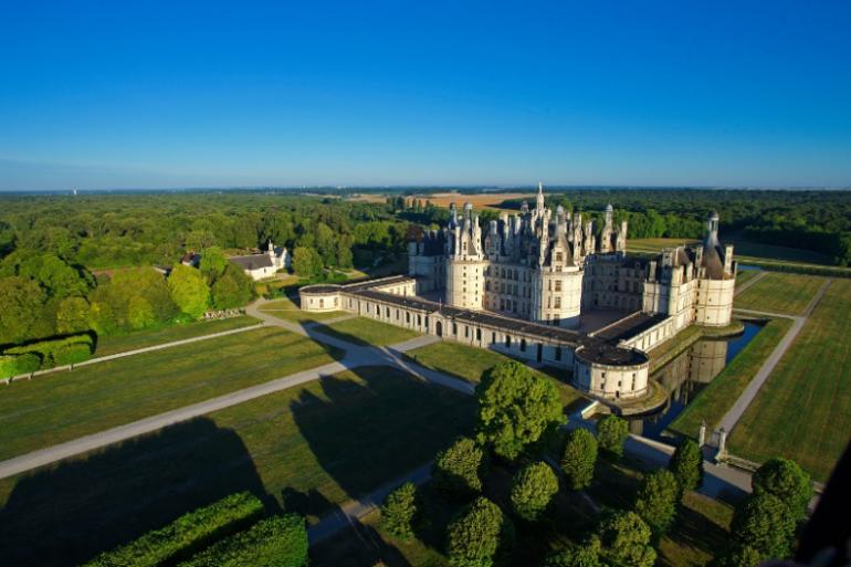 Le château de Chambord (Centre-Val de Loire)