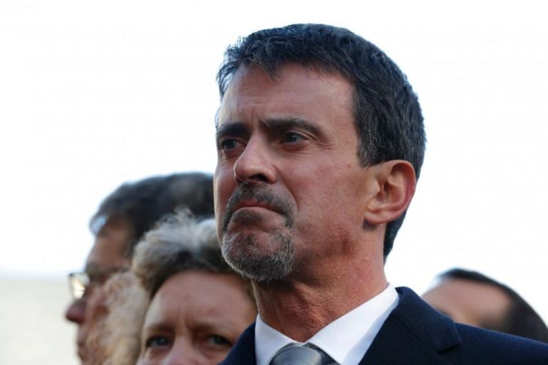 L'ancien premier ministre, Manuel Valls