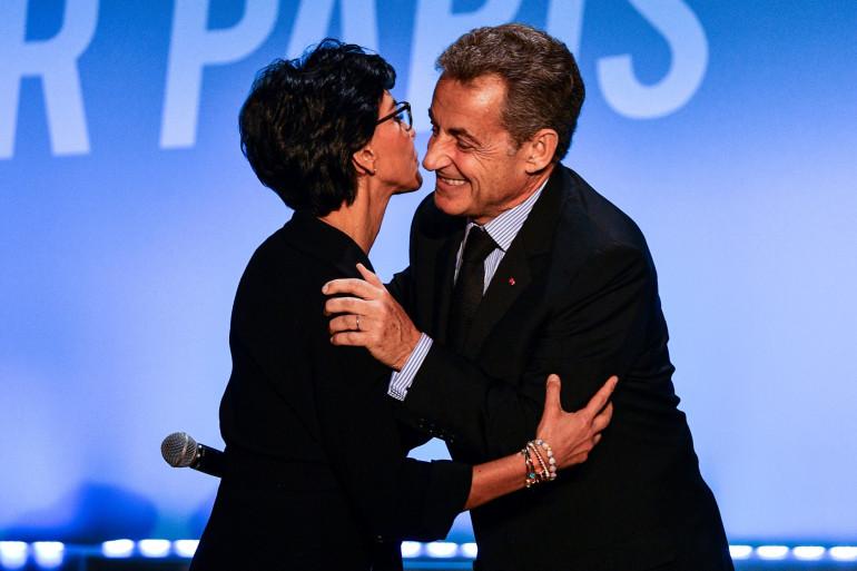 Rachida Dati et Nicolas Sarkozy le 9 mars 2020