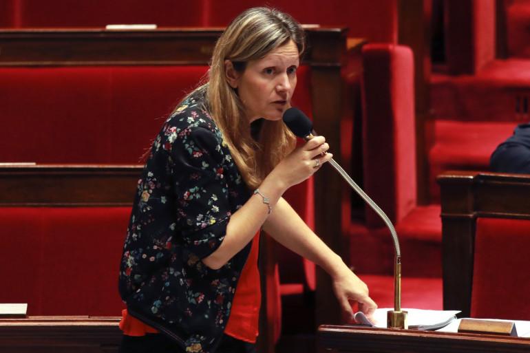 La députée REM Yaël Braun-Pivet à l'Assemblée nationale
