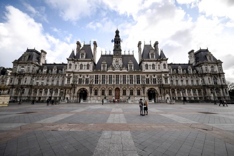 L'hôtel de ville de Paris (illustration)