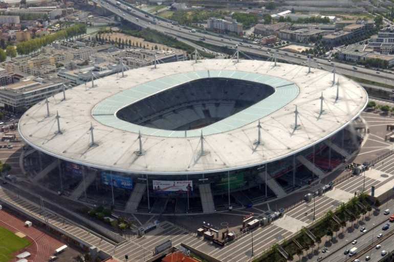 Une vue aérienne du Stade de France