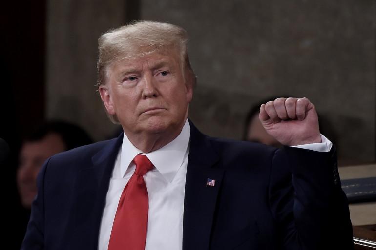 Donald Trump, le 4 janvier 2020.