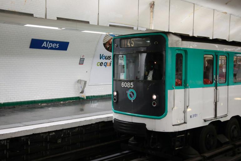 Un métro de la RATP (Illustration).