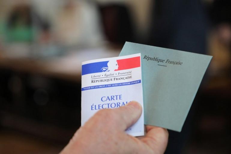 Une carte électorale (illustration)