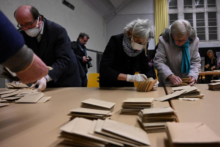 Un bureau de vote (image d'illustration)