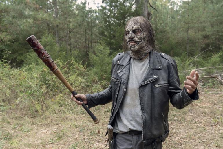 """Negan dans la saison 10 de """"The Walking Dead"""""""