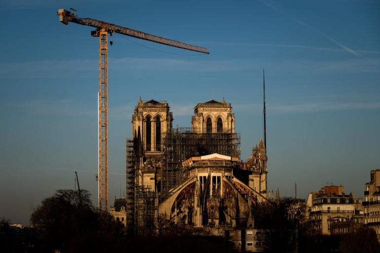 La cathédrale Notre-Dame de Paris le 6 janvier 2020