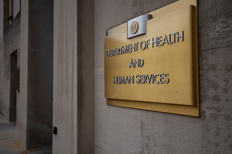 Le Département de la Santé américain à Washington