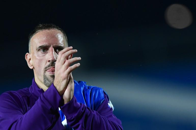 Franck Ribéry ene novembre 2019 lors d'un match Fiorentina vs Brescia