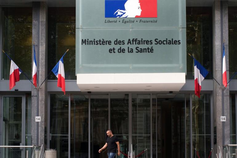 Le ministère de la Santé, à Paris (Illustration).