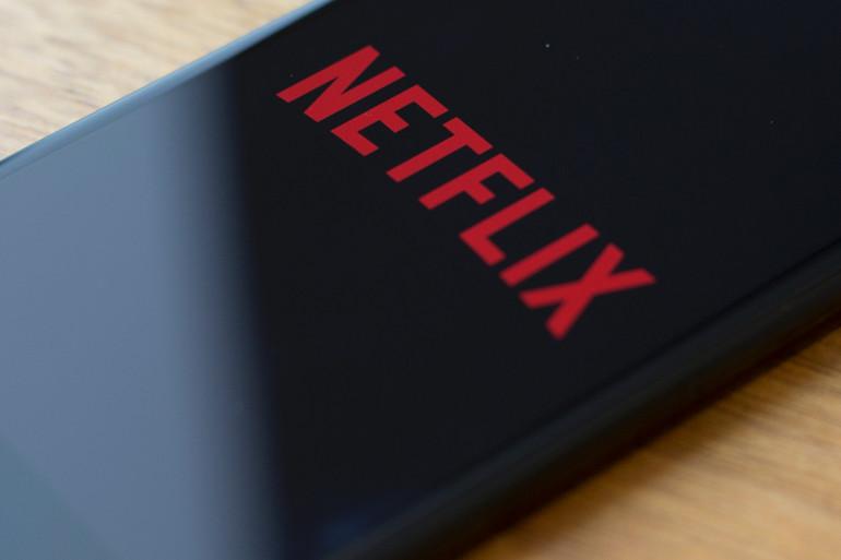 Le logo de Netflix sur un téléphone portable (Illustration).