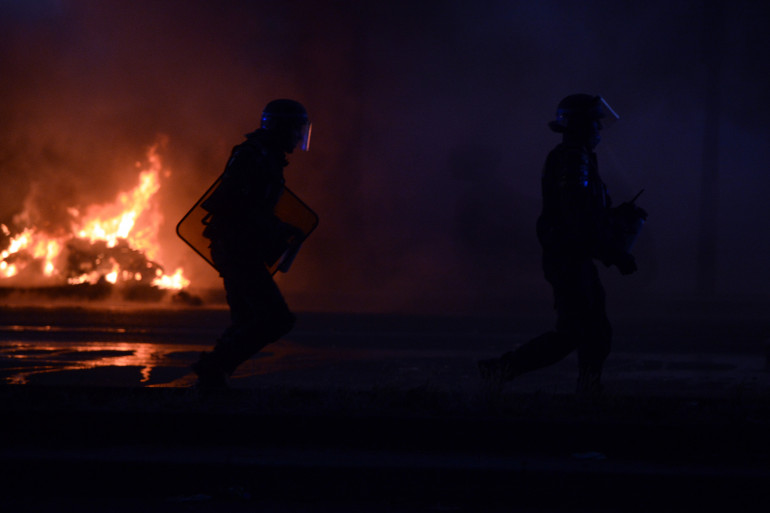 Émeute (image d'illustration)