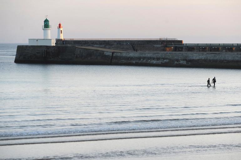 Une plage des Sables-d'Olonne, en Vendée (Illustration).