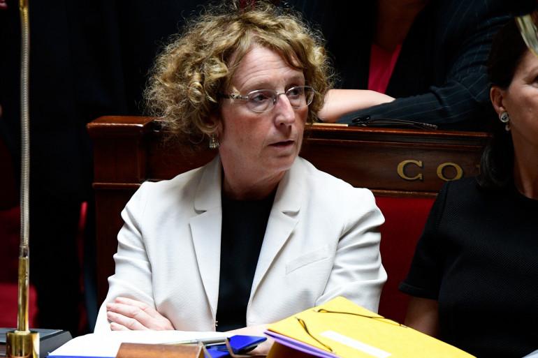 La  ministre du Travail Muriel Pénicaud à l'Assemblée nationale le 5 juillet 2017