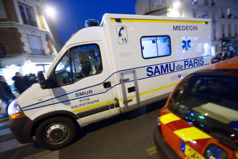 Une ambulance du SAMU de Paris (photo d'ilustration).