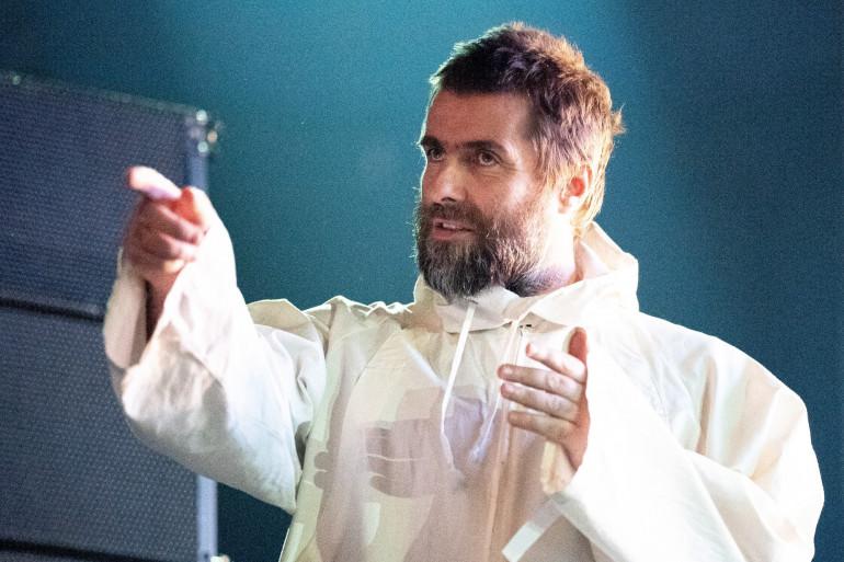 Liam Gallagher, le 18 février 2020 à Vienne (Autriche).