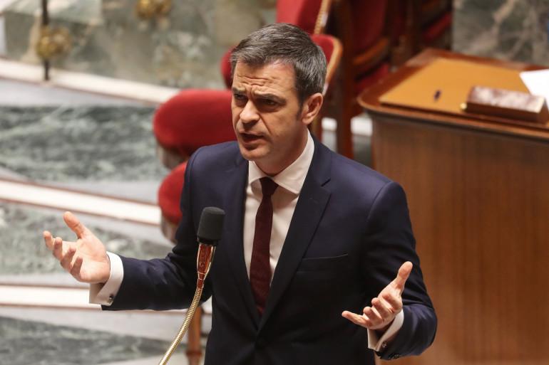 Olivier Véran le 21 mars 2020 à l'Assemblée nationale