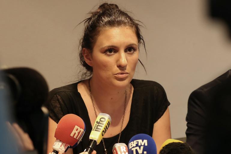 Sandra Bertin, policière municipale de Nice, le 24 juillet 2015