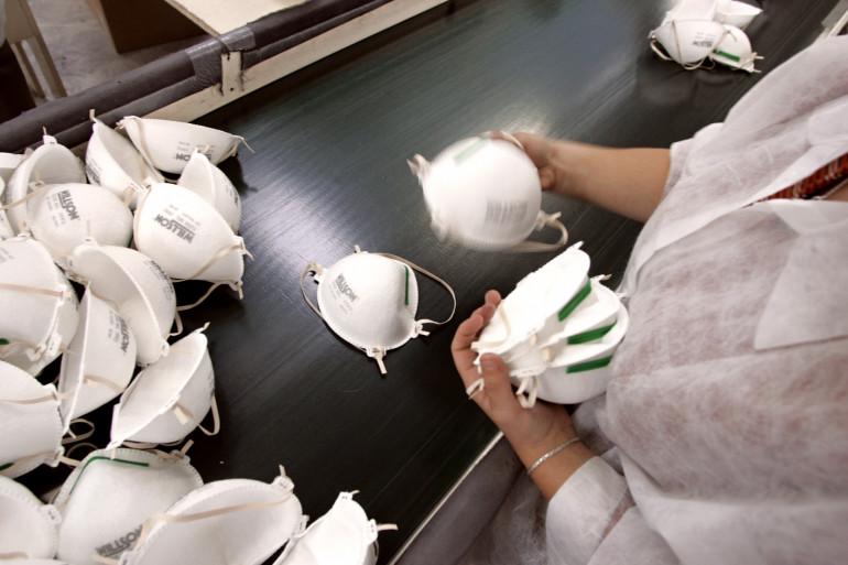 Des masques de type FFP2