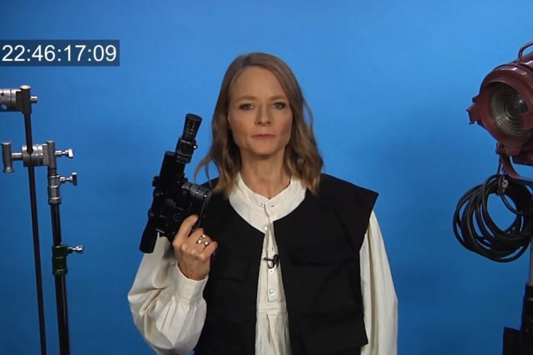 Jodie Foster se glisse dans les habits de Han Solo pour un sketch irrésistible