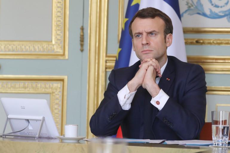 Emmanuel Macron, le 19 mars 2020