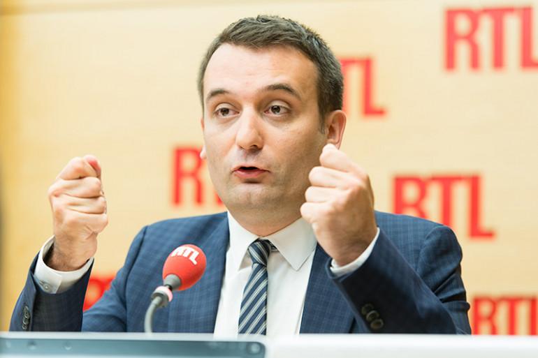 Florian Philippot, invité de RTL le 28 juillet 2016