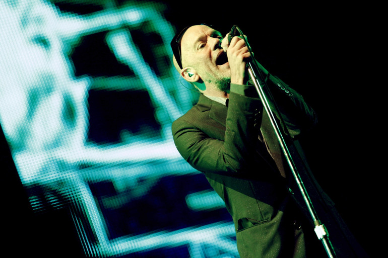 Michael Stipe, chanteur du groupe américain R.E.M