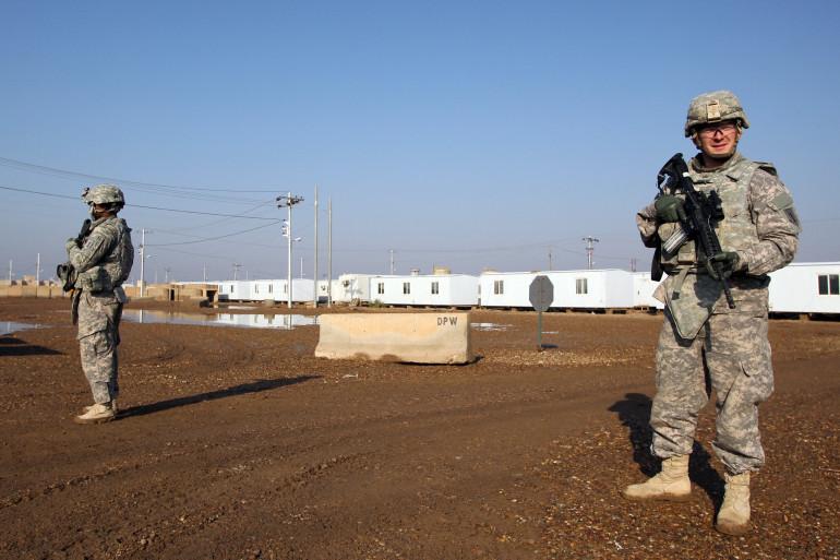 Des soldats américains, le 29 décembre 2014 (Illustration).
