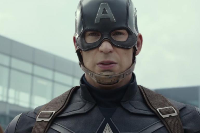 Chris Evans alias Captain America
