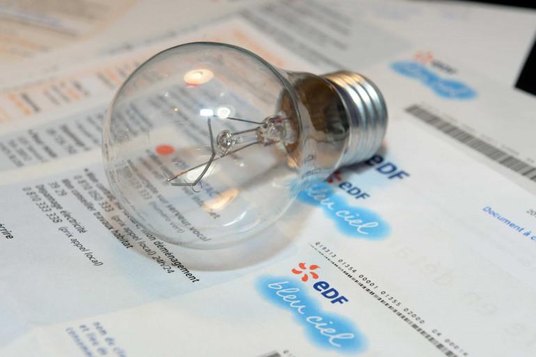 Une facture EDF (illustration)