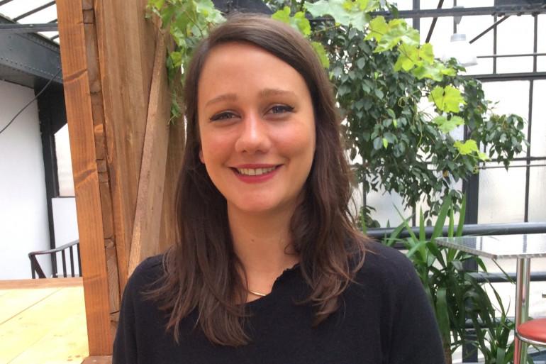 Camille Freisz, cofondatrice de la start up Valwin