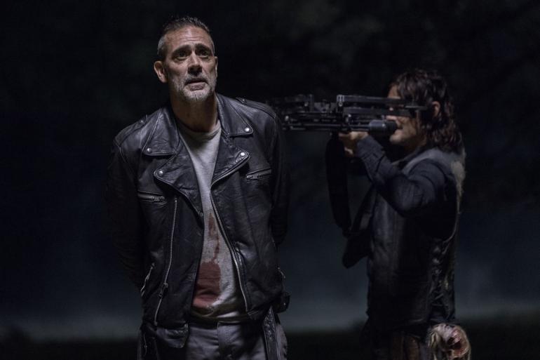 """Negan et Daryl dans l'épisode 14 de """"The Walking Dead"""""""