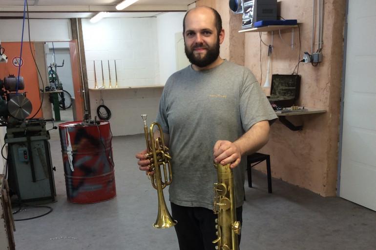 Jérôme Wiss, facteur d'instrument à vent
