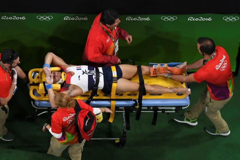 Le gymnaste Samir Aït Saïd blessé aux J.O. de Rio 2016