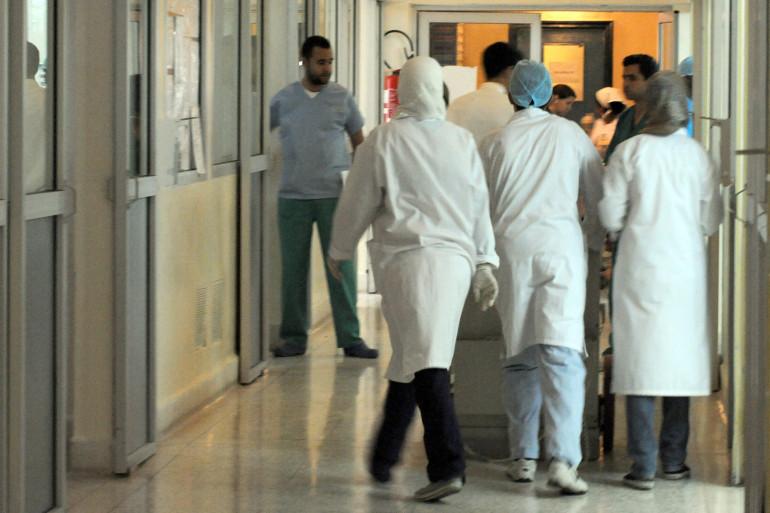 Des infirmières dans un hôpital (illustration)