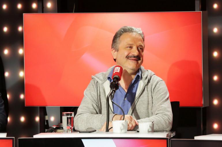 """Eric Laugérias dans """"Les Grosses Têtes"""""""
