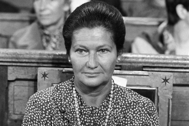 Simone Veil, le 12 septembre 1982