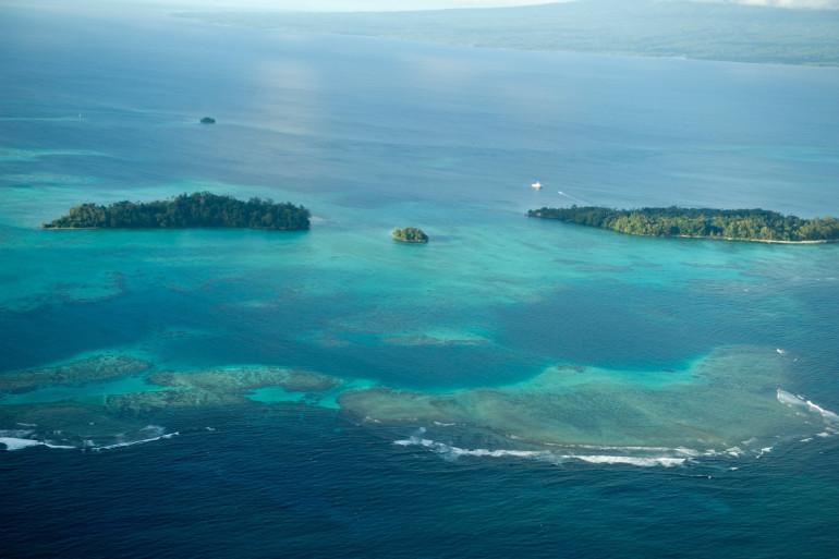 Une partie des Îles Salomon en septembre 2011