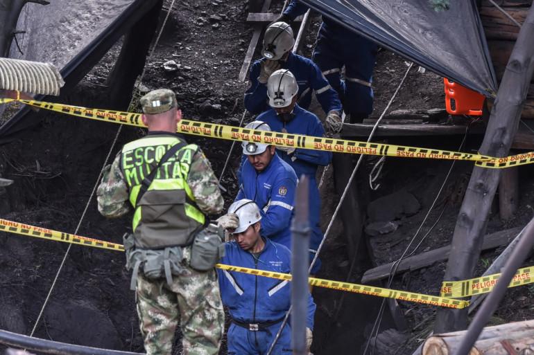 Huit mineurs avaient trouvé la mort lors d'une explosion d'une mine le 24 juin 2017 en Colombie (illustration).